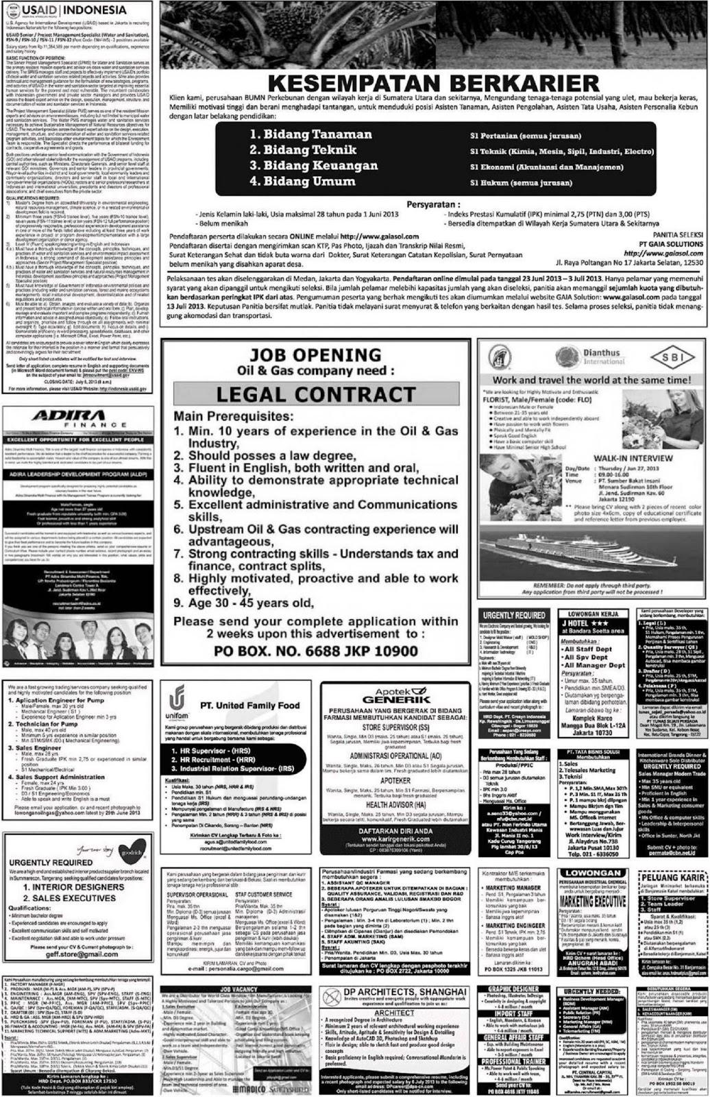 Info Lowongan Terbaru Di Pekalongan Portal Info Lowongan Kerja Di Semarang Jawa Tengah Terbaru Portal Info Lowongan Kerja Di Yogyakarta Terbaru 2015 Share The