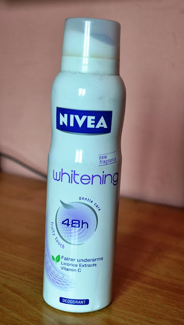 Nivea Whitening Deo Spray Review and Pictures