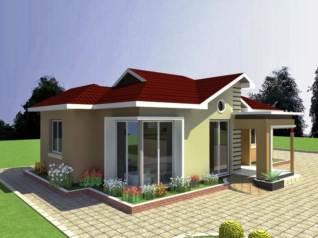 Simple house plans in tanzania front design for Simple house design images