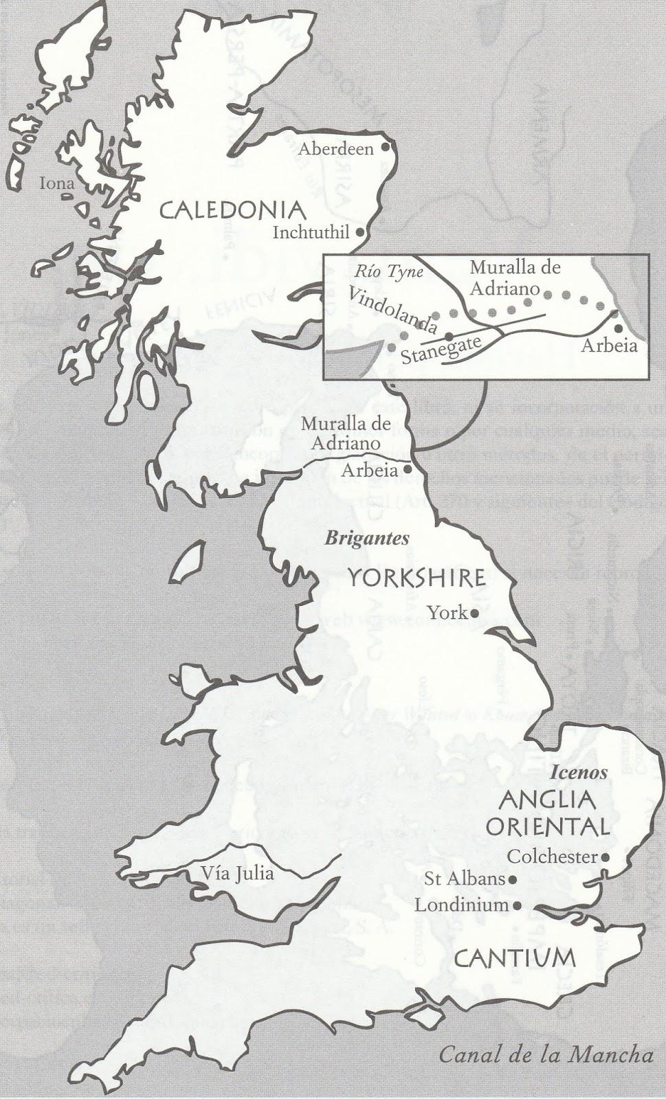 Muro De Adriano Mapa.Muro De Adriano Mapa Mapa