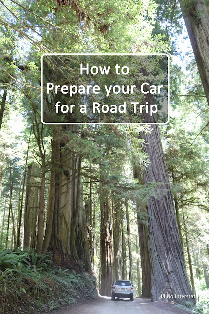 48 No Interstate: How to Prepare your Car for a Road Trip