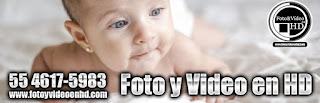 foto y video para bautizo