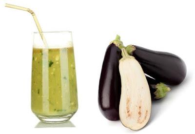 Receitas de suco de berinjela e água de berinjela para emagrecer e perder peso rápido!