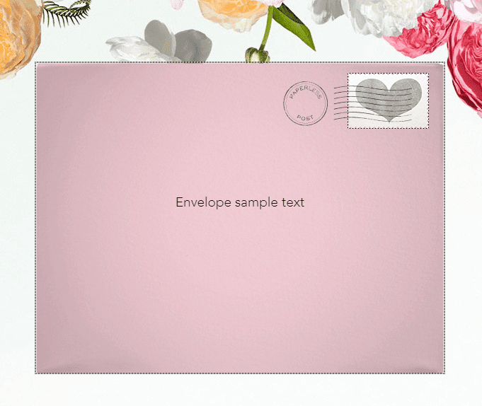envelope sample