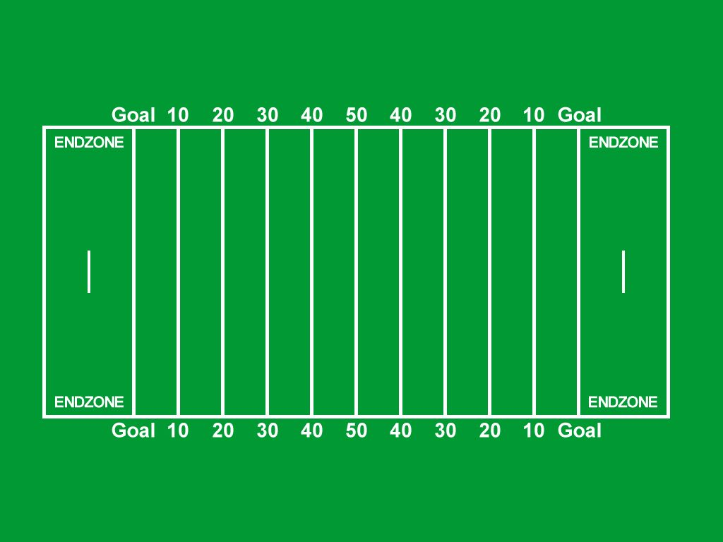 football field diagram printable 2002 kia spectra radio wiring players american