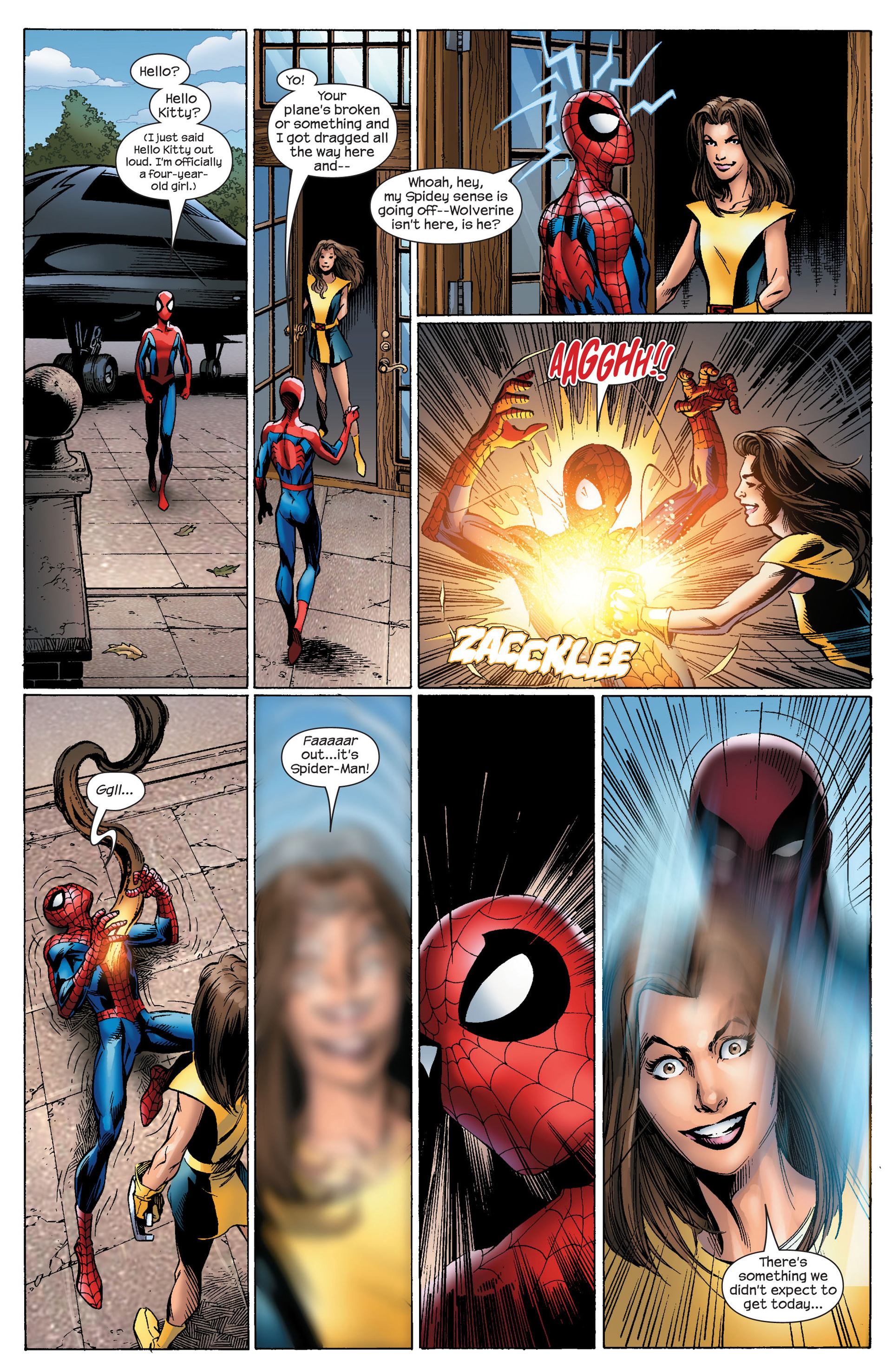 Read online Ultimate Spider-Man (2000) comic -  Issue #91 - 22