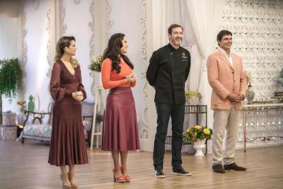 Beca, Nadja, Alê Costa e Olivier (Crédito: Victor Silva/SBT)