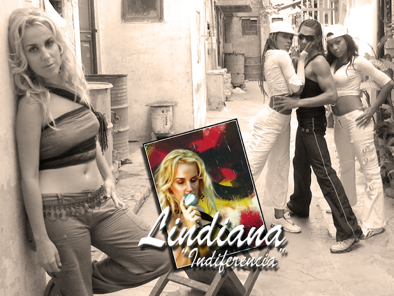 Lindiana y Mantra ¨Indiferencia¨ Video Clip. Orlando Domínguez - Héctor Falagán De Cabo.