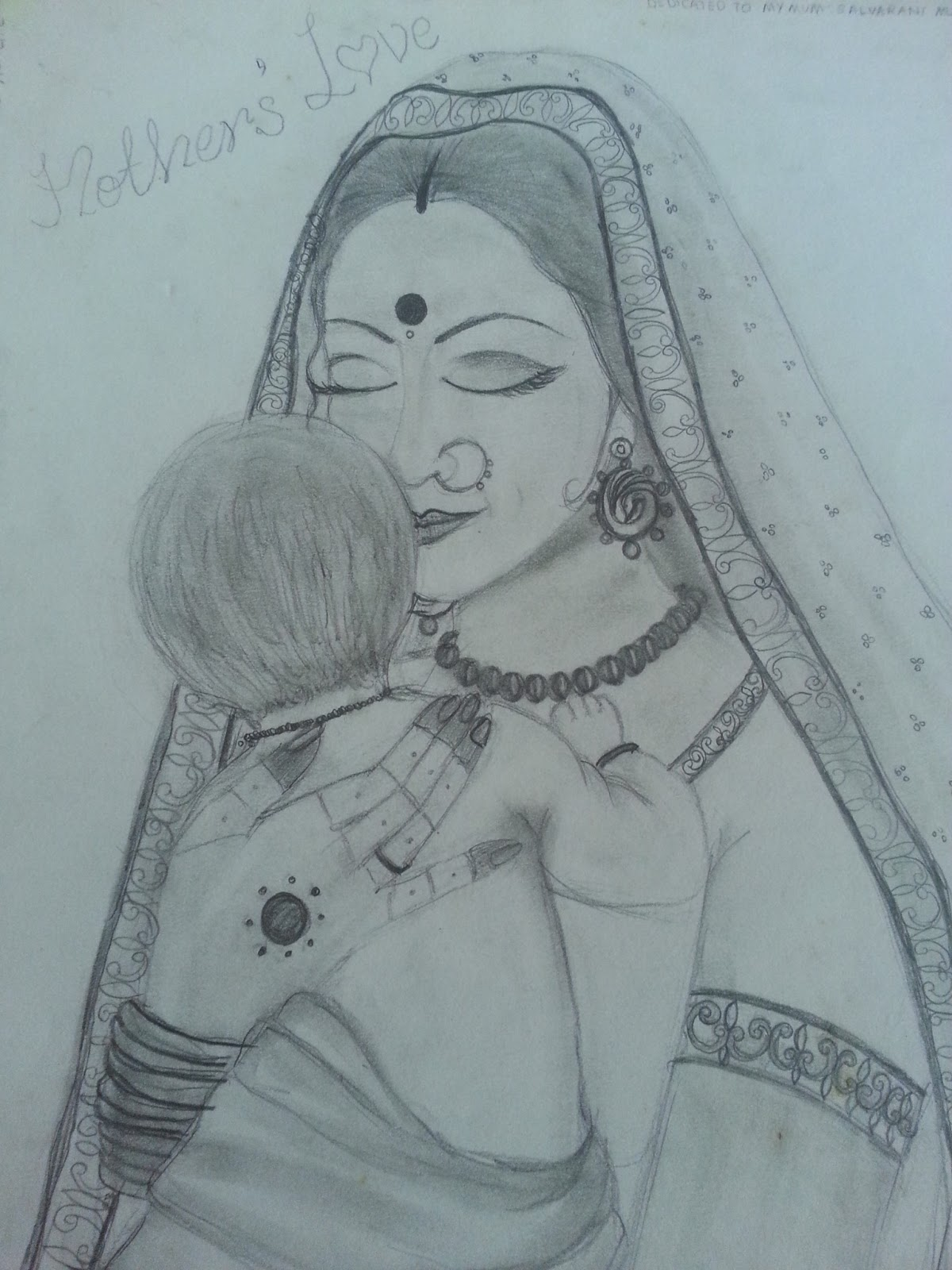 Pencil sketch and me