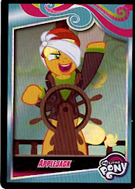 MLP Applejack Series 4 Trading Card