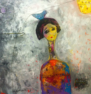 Peinture du dimanche... Ghada Al Mhamadi - Arabie Saoudite dans - DESSIN - IMAGE - PEINTURE a1