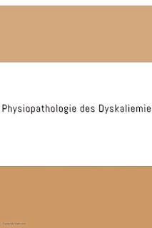 Physiopathologie des Dyskaliemie