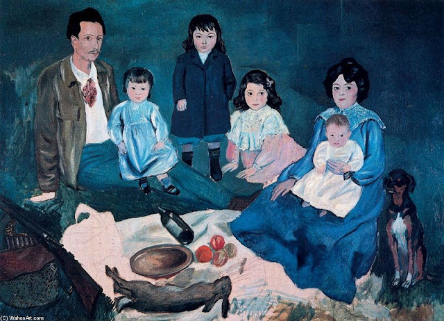 Picasso famille