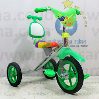 sepeda roda tiga bmx exotic krom pernekel