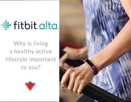 Canadian Tire Fitbit Alta Giveaway