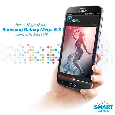 Samsung Galaxy Mega 6.3 Smart Postpaid Plan and Prepaid price