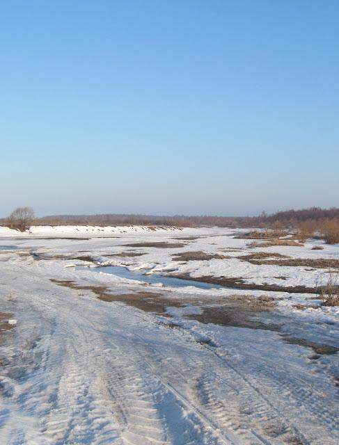 весна на реке Подлесной
