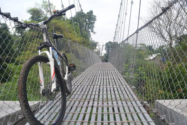 Jembatan Bawuran Gunung Kelir