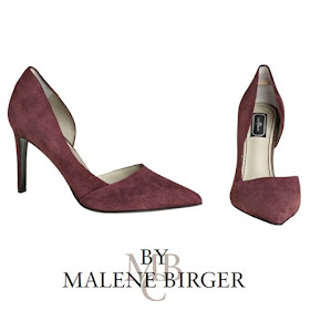 Princess Marie of Denmark BY MALENE BİRGER Suede Pumps