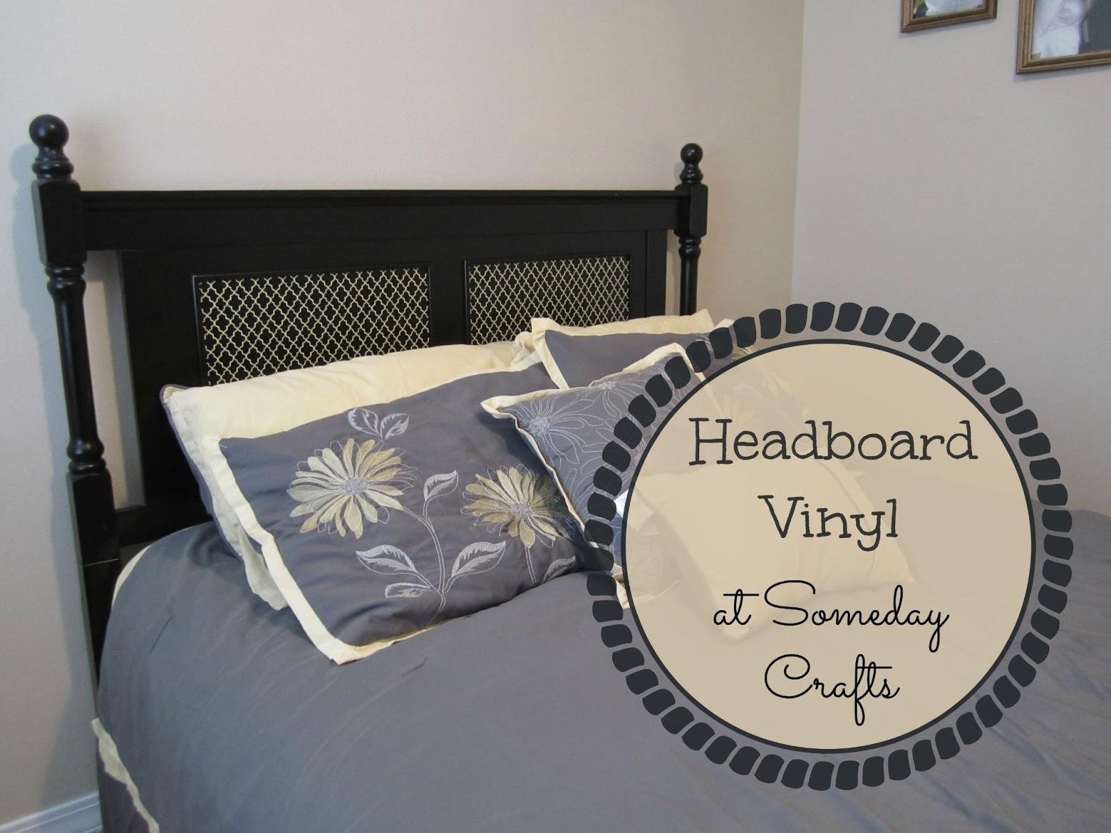 Someday Crafts Headboard Vinyl