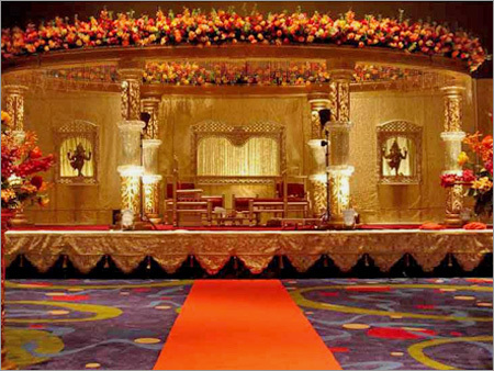 Decoration themes for pre wedding ceremonies decoration themes for couples opt for raja maharajas royal style wedding decor to give a royal touch to their pre wedding ceremonies colors like deep red purple golden can be junglespirit Gallery