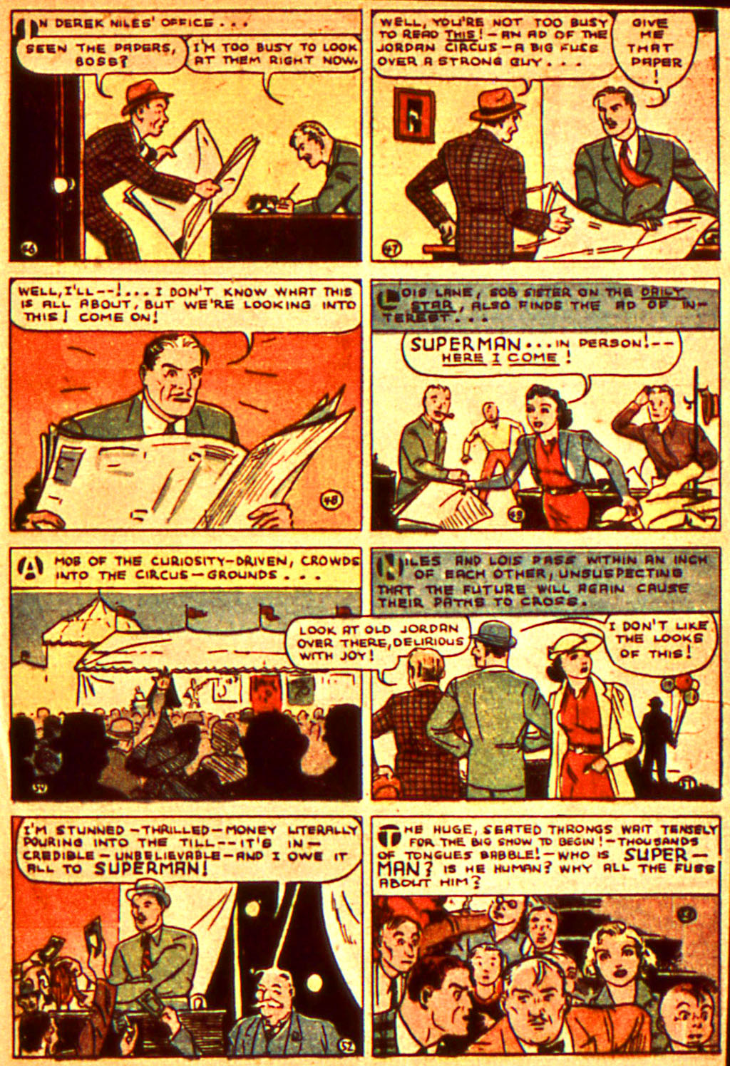 Read online Action Comics (1938) comic -  Issue #7 - 10