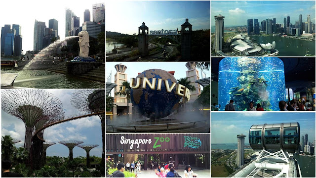 Travel Itinerary: Singapore in 4 days