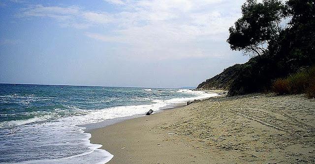 плаж за къмпингуване