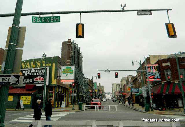 BB King Boulevard, Memphis, Tenessi
