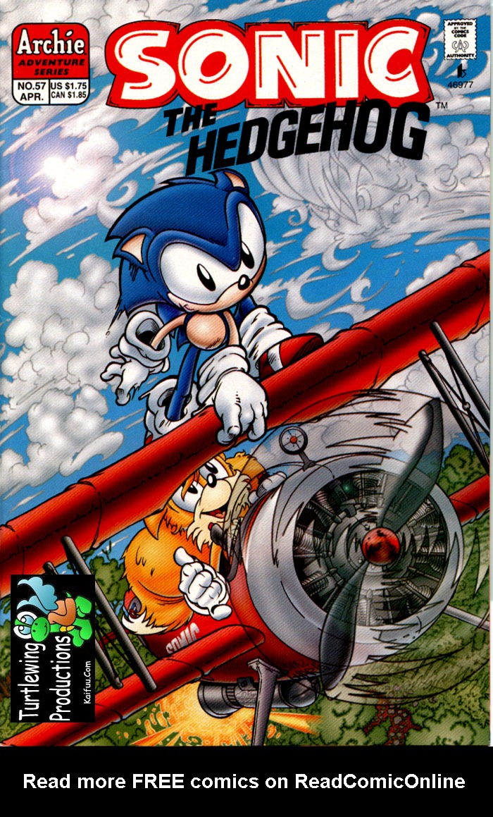 Read online Sonic The Hedgehog comic -  Issue #57 - 1