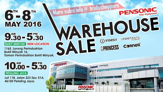 Pensonic Warehouse Sales