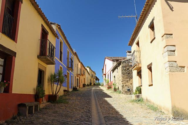 Calles de Granadilla, Cáceres