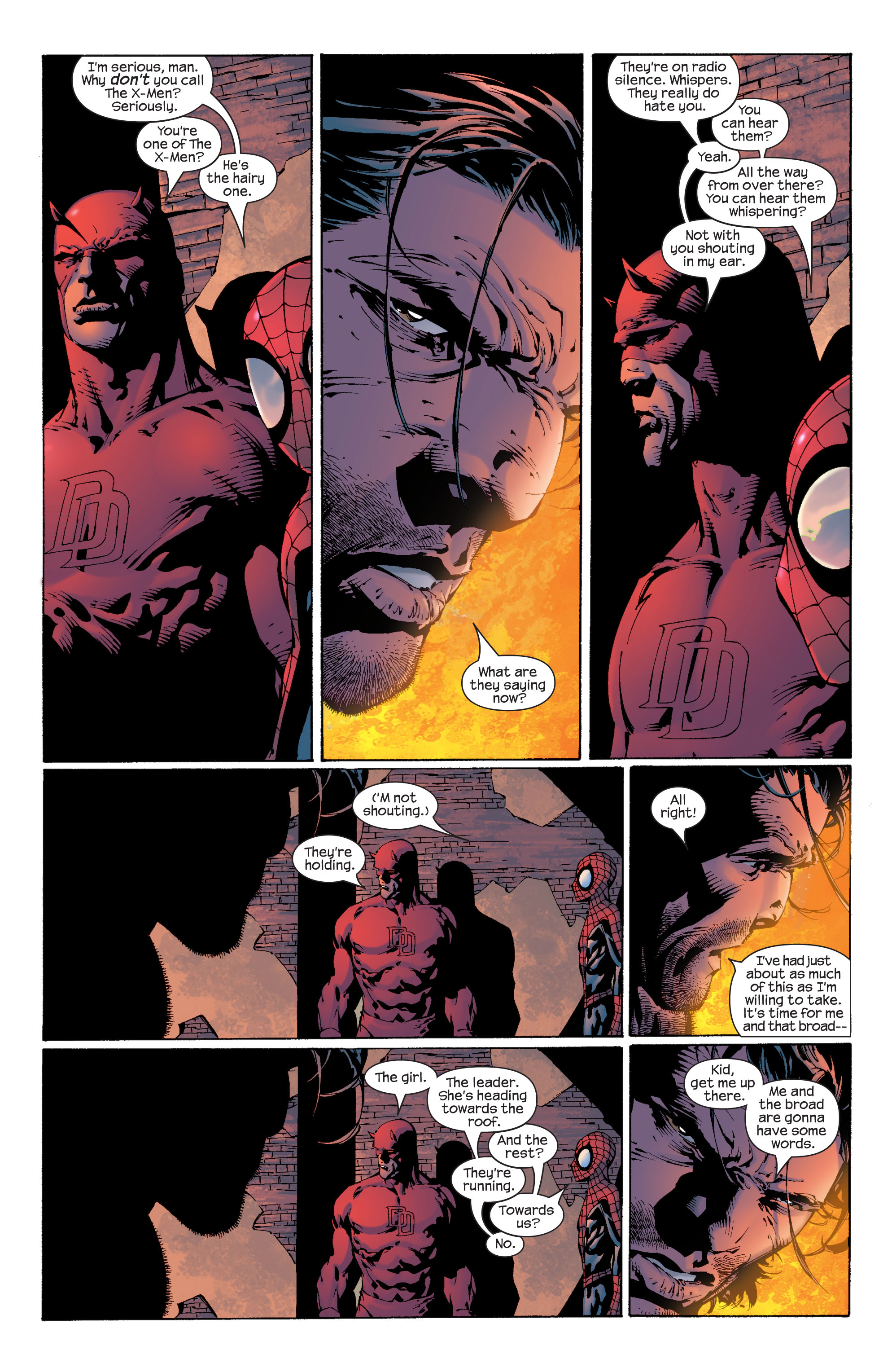 Read online Ultimate X-Men comic -  Issue #37 - 11