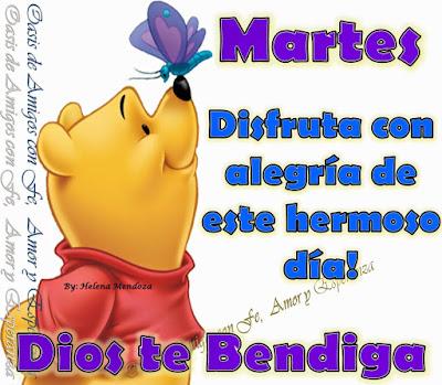 imagen Buenos dias Feliz martes