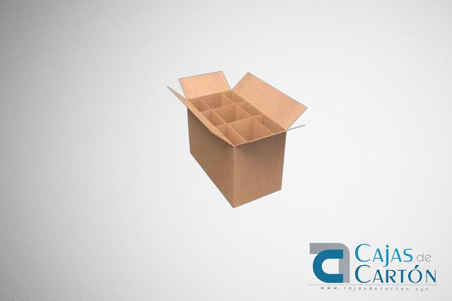 Cajas de Cartón con Divisiones