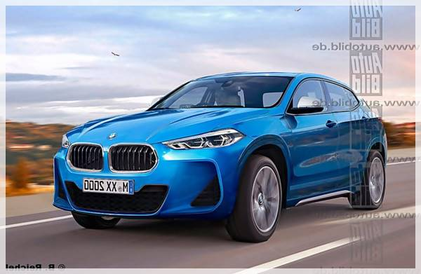2018 BMW X2 Production Rendered