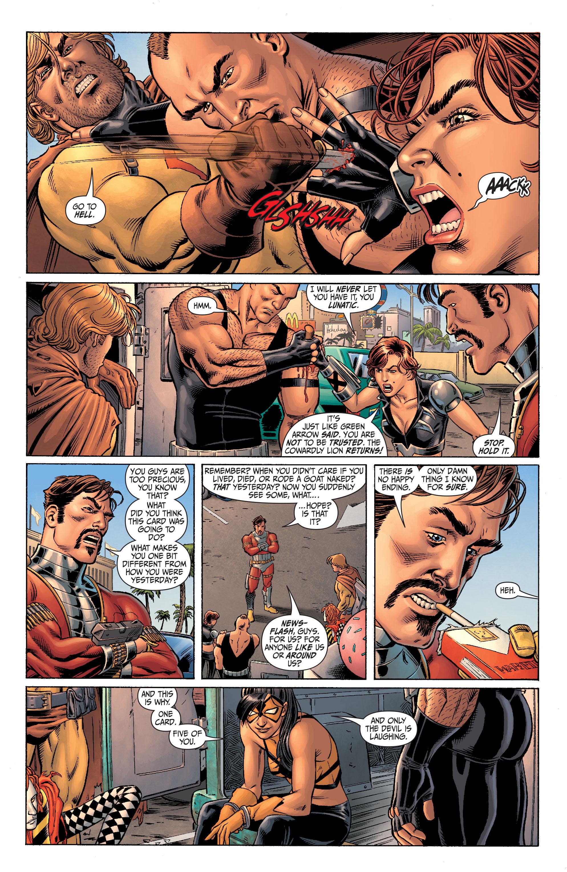 Read online Secret Six (2008) comic -  Issue #4 - 15