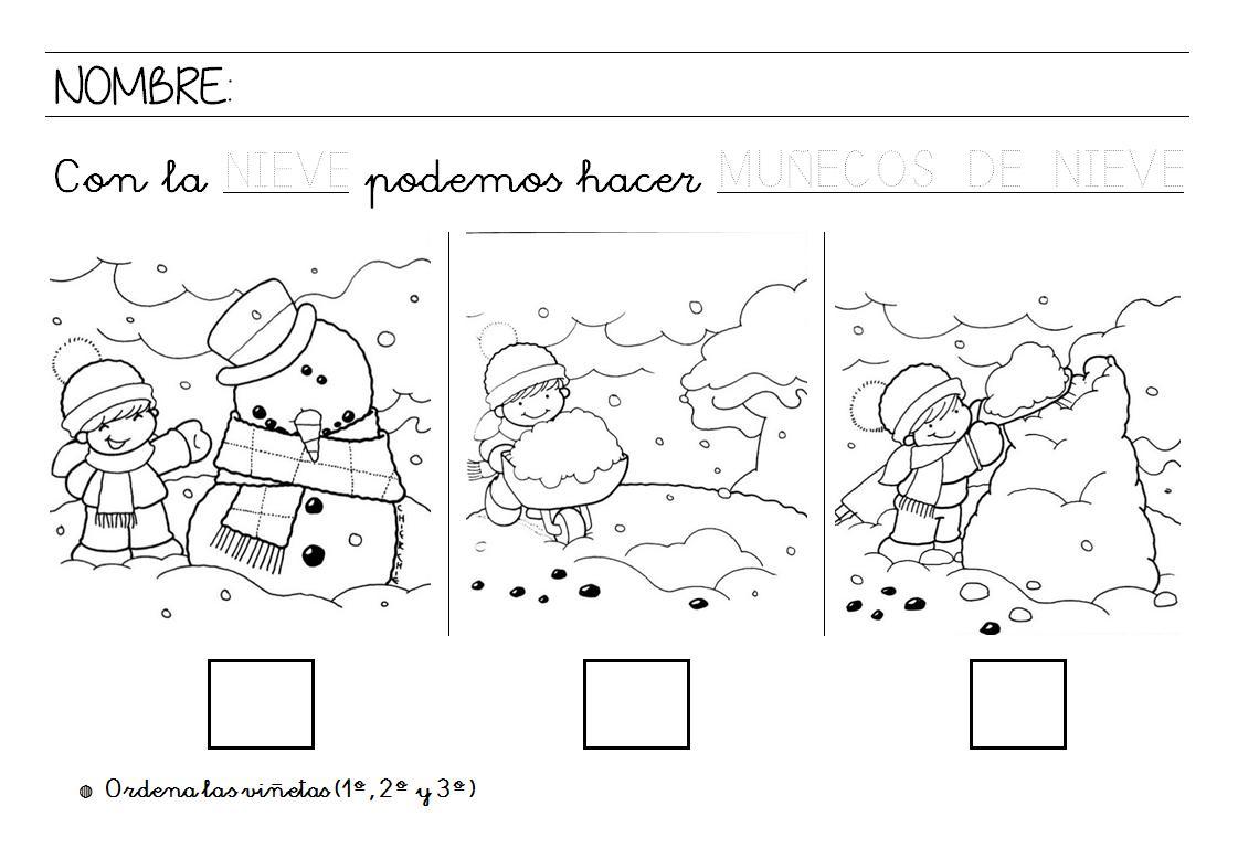 Menta m s chocolate recursos y actividades para - Proyecto el invierno ...