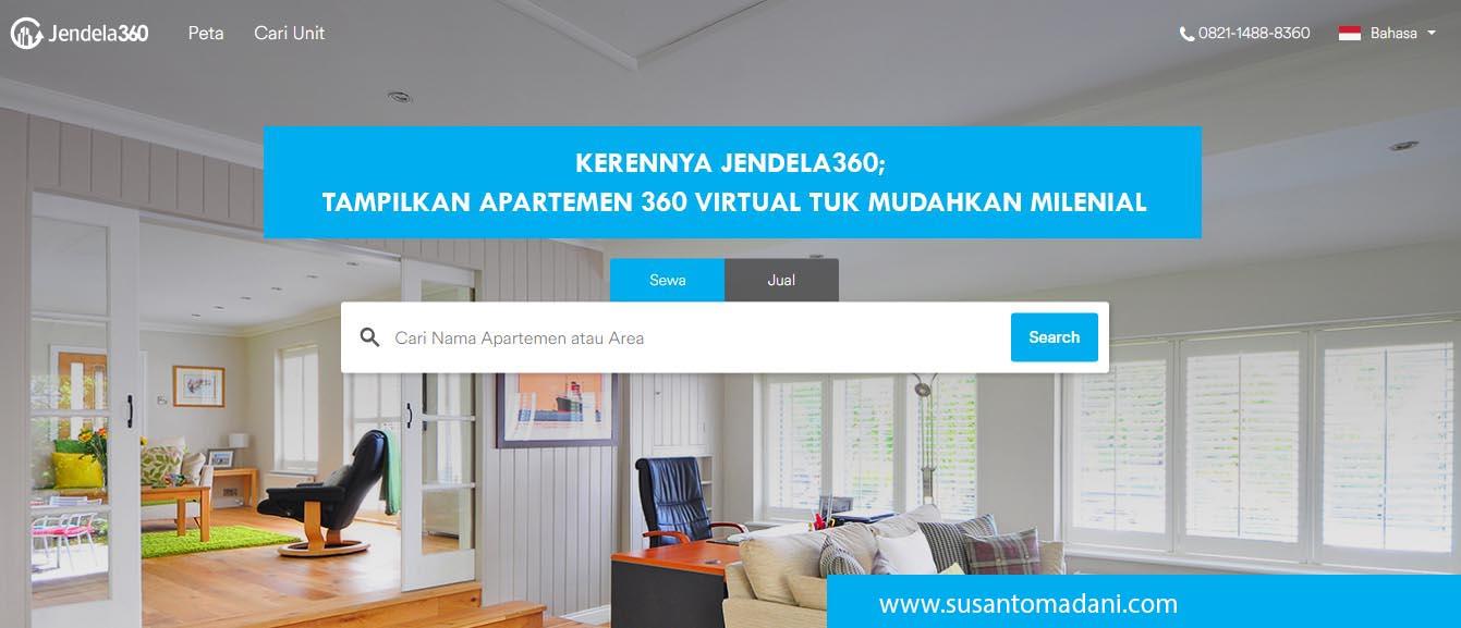 Kerennya Jendela360; Tampilkan Apartemen 360 Virtual Tuk Mudahkan Milenial