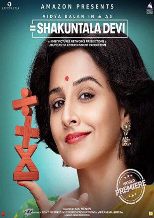 Shakuntala Devi 2020 Full Hindi Movie Download HDRip 720p