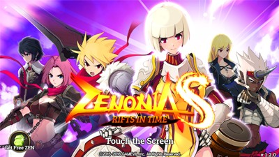 ZENONIA S: Rifts in Time - Character Stats Growth Rate