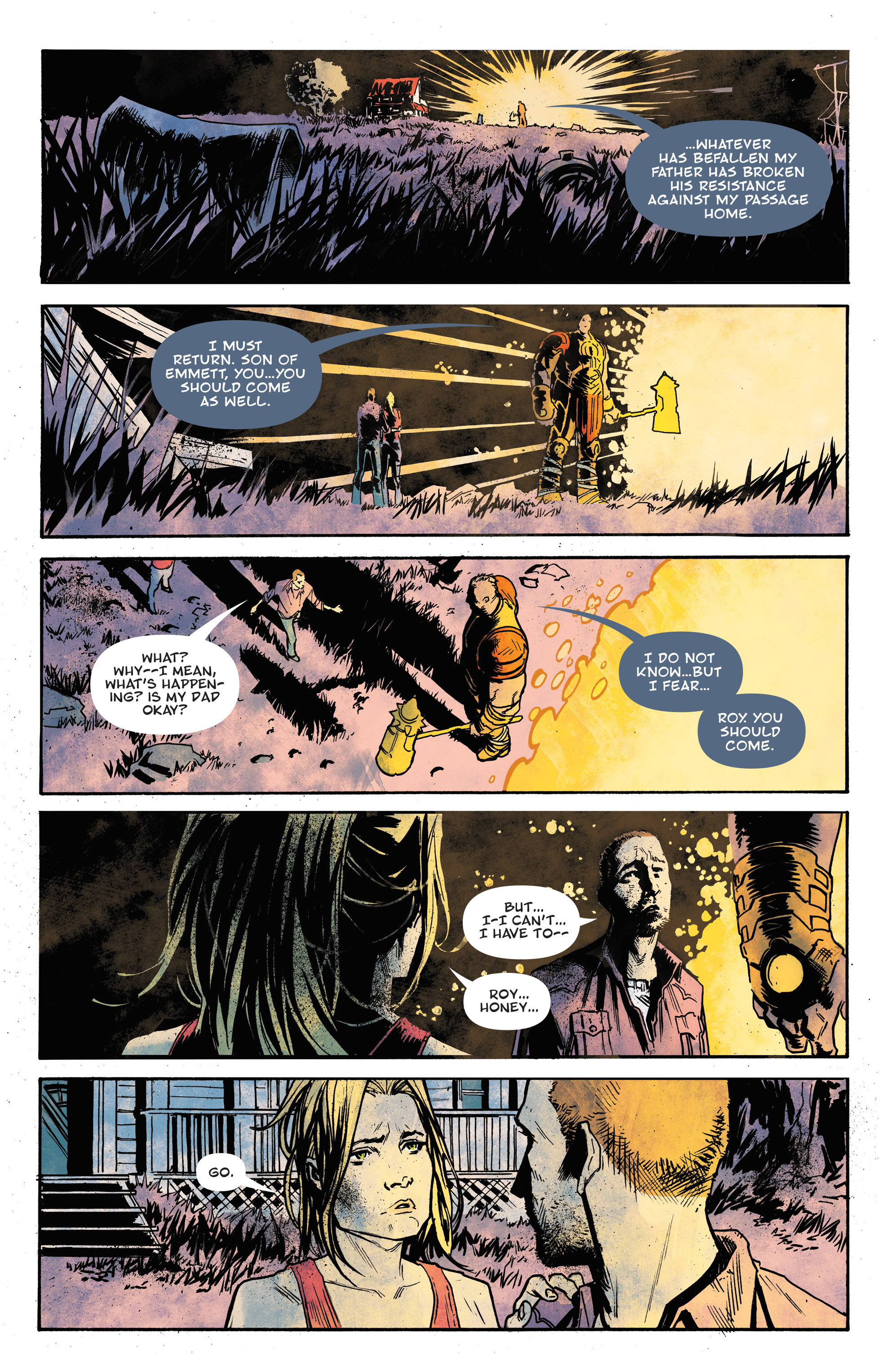 Read online God Country comic -  Issue #6 - 16