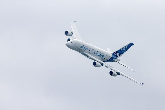 Airbus A380-800 in Paris Air Show
