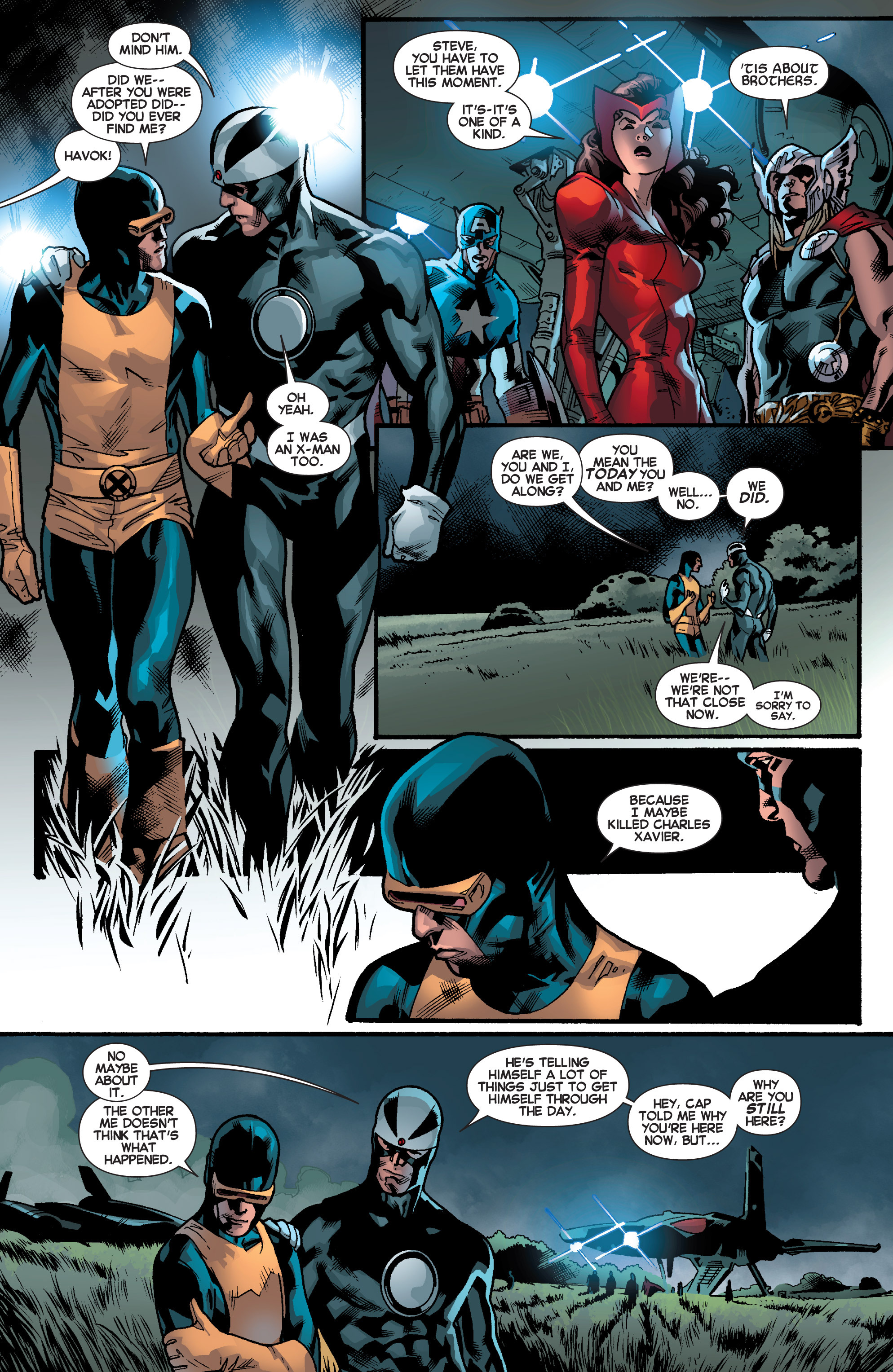 Read online All-New X-Men (2013) comic -  Issue # _Special - Out Of Their Depth - 30