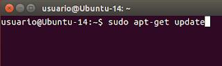 sudo apt-get update