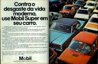 propaganda Mobil - 1979. propaganda anos 70. propaganda carros anos 70. reclame anos 70. Oswaldo Hernandez.