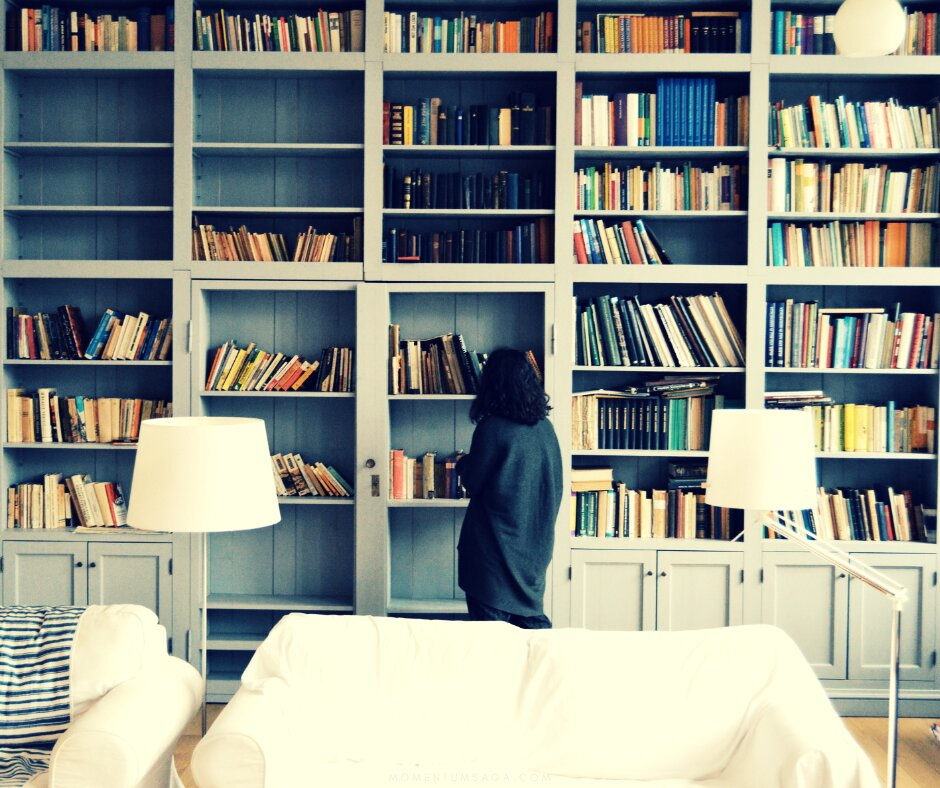 TAG: Acumuladora de Livros