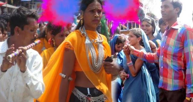 भारत में यहाँ होली के दिन लड़की को भगाकर शादी करने की हैं परंपरा