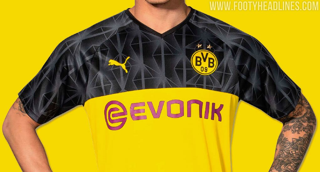Borussia Dortmund 19 20 Champions League Kit Released Footy Headlines