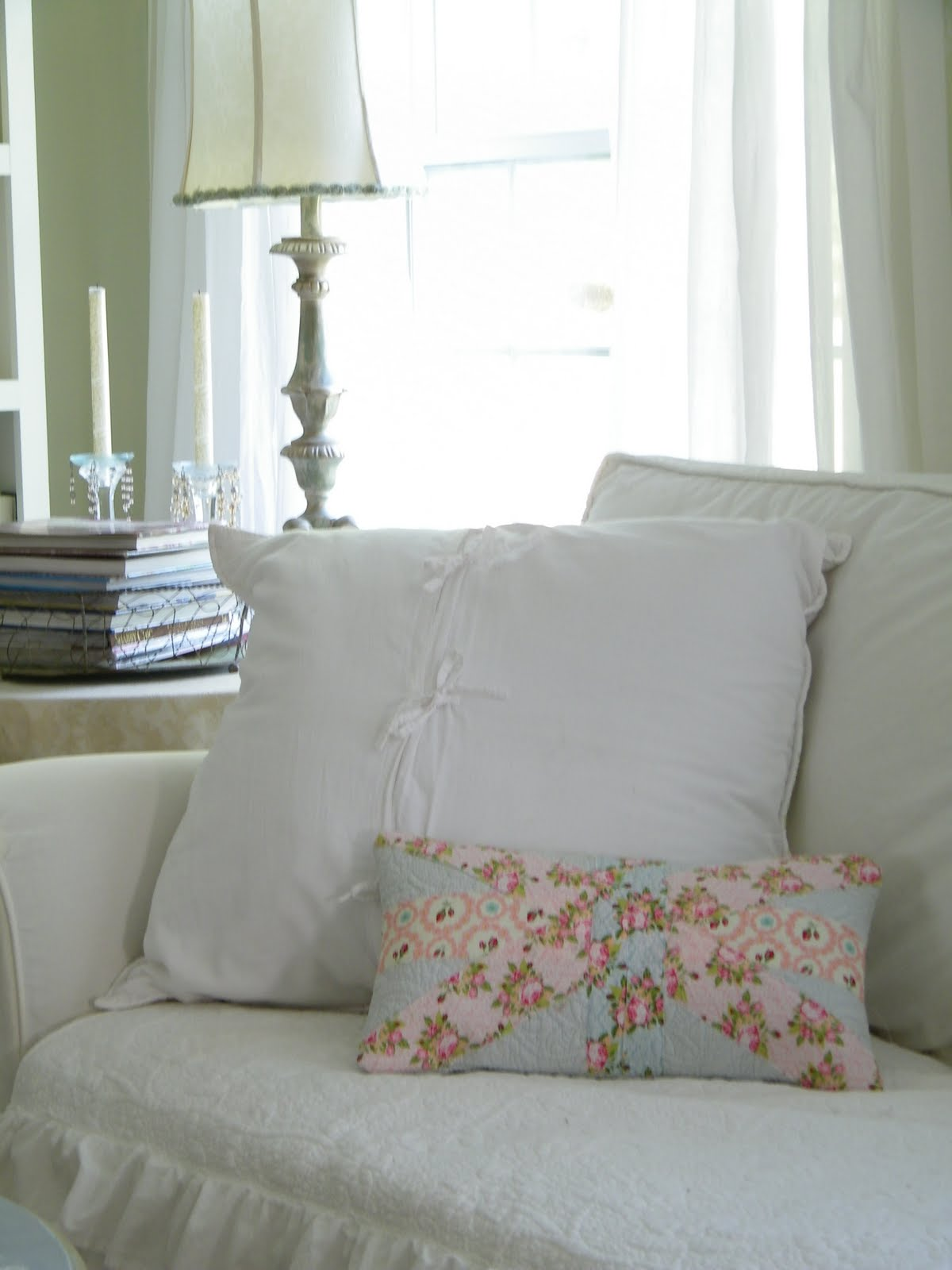 Shabby Look Maison Decor Shabby Chic Union Jack Pillow